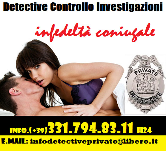 Infedeltà coniugale - Indagini private